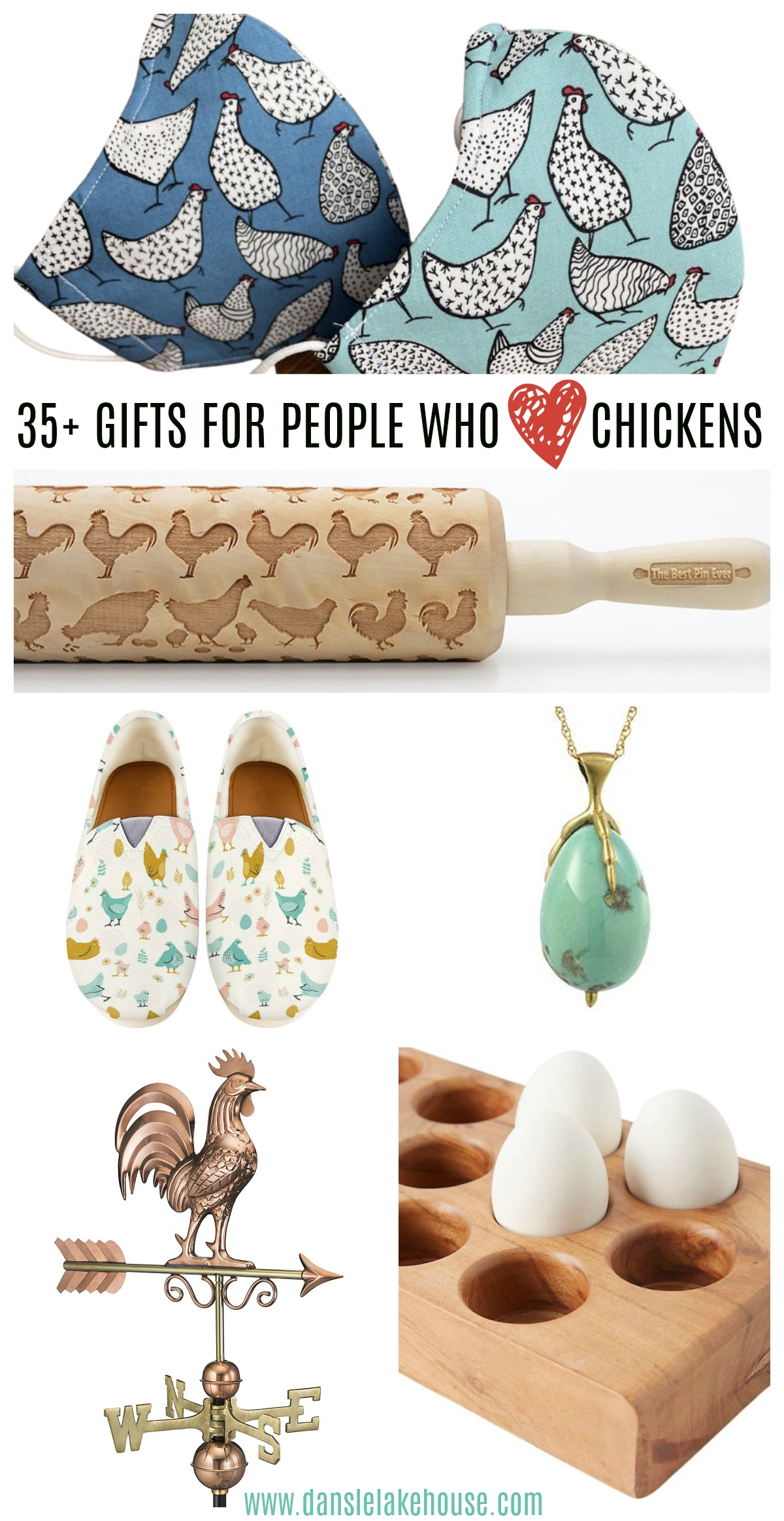 35+ gifts for people who love chickens