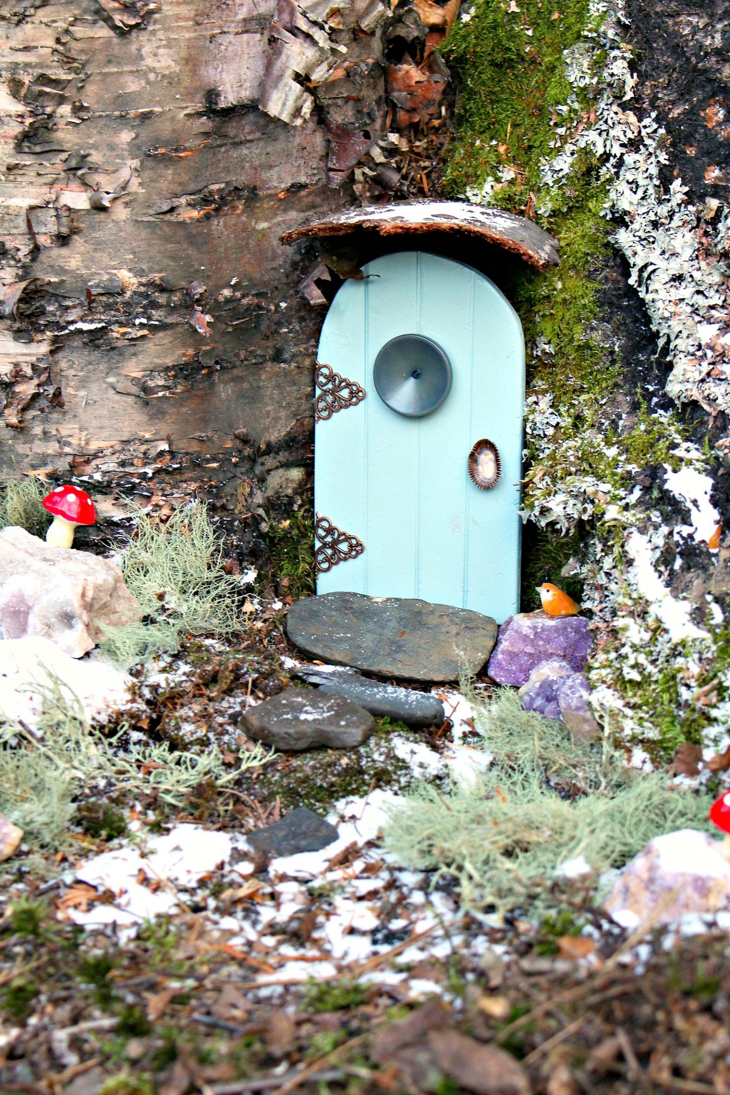 How to Make a Fairy Door in a Tree