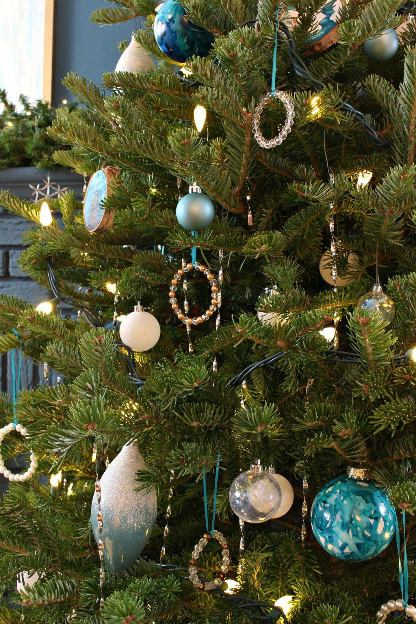Lake Superior Inspired Christmas Tree
