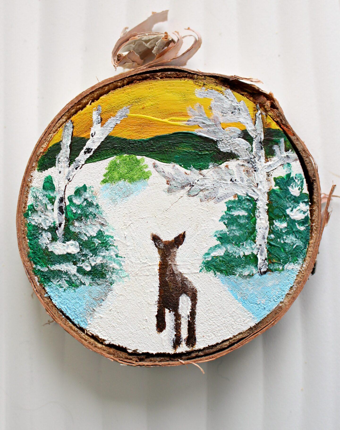 Décorations de Noël inspirées de l'art populaire