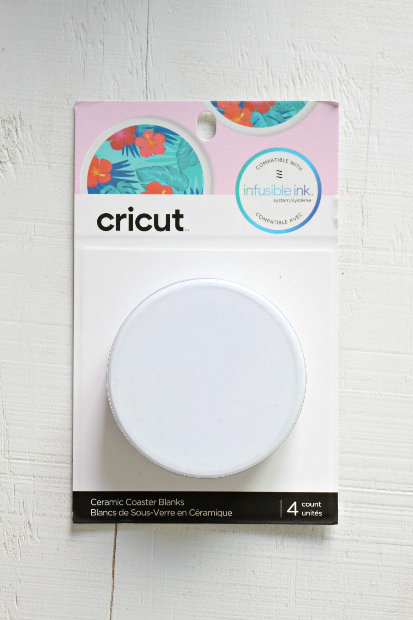 Cricut Ceramic Coaster Blanks Quality