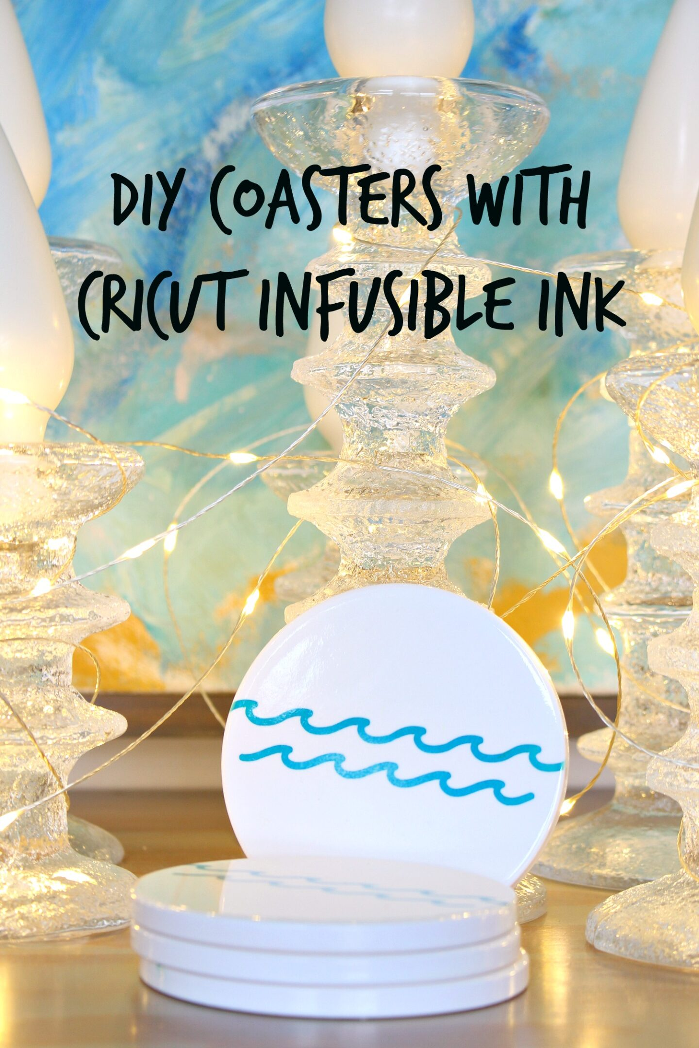 DIY Cricut Infusible Ink Coasters Project Tutorial