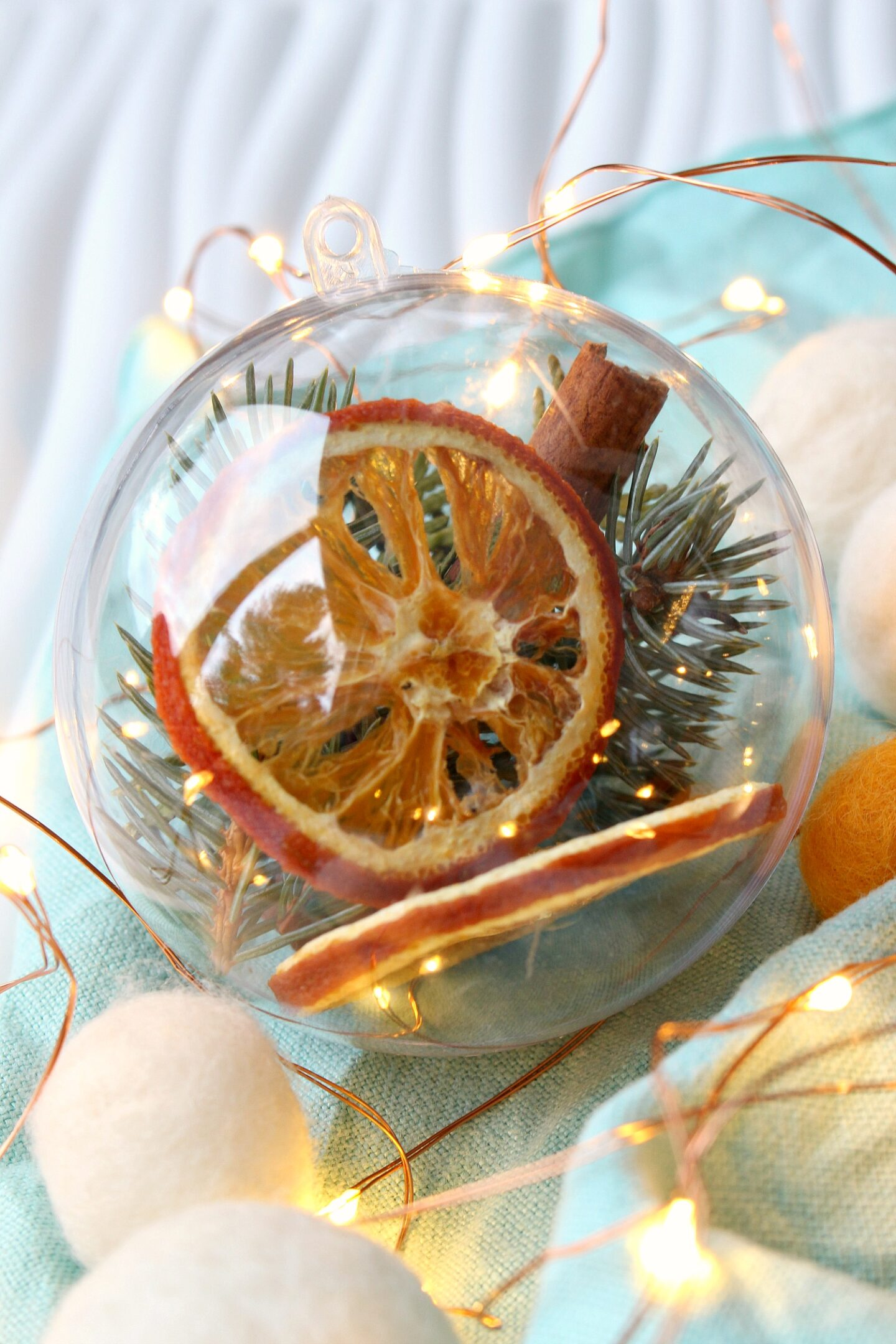 DIY Stove Top Potpourri Fillable Ornament