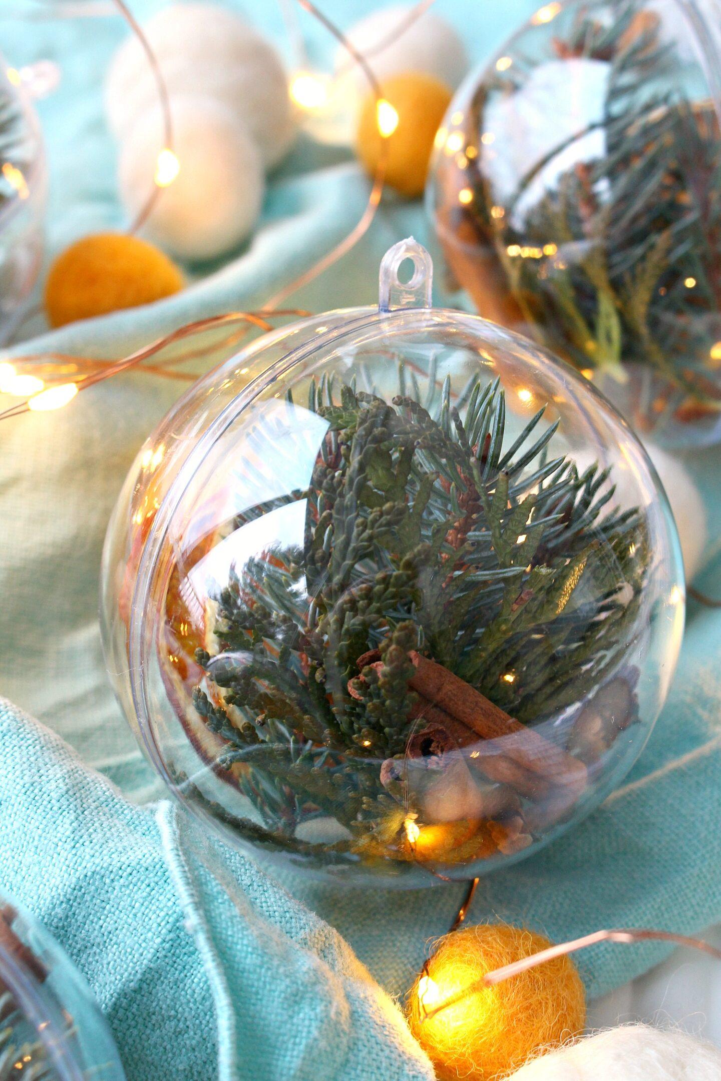 Natural Christmas Ornament Idea