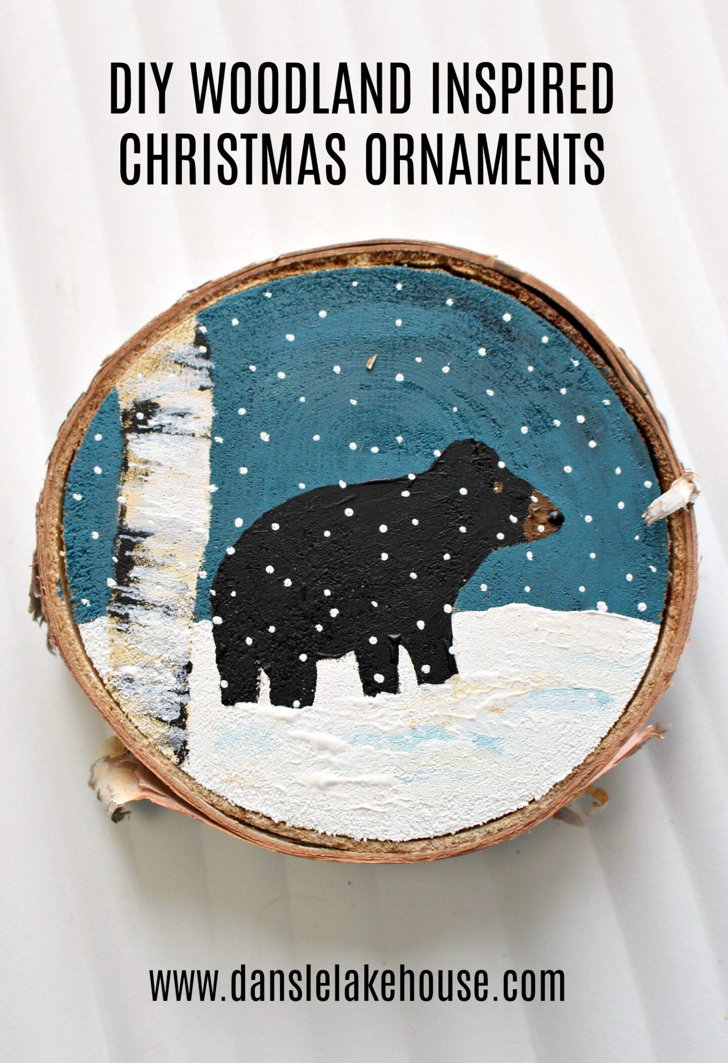 Décorations de Noël inspirées des forêts