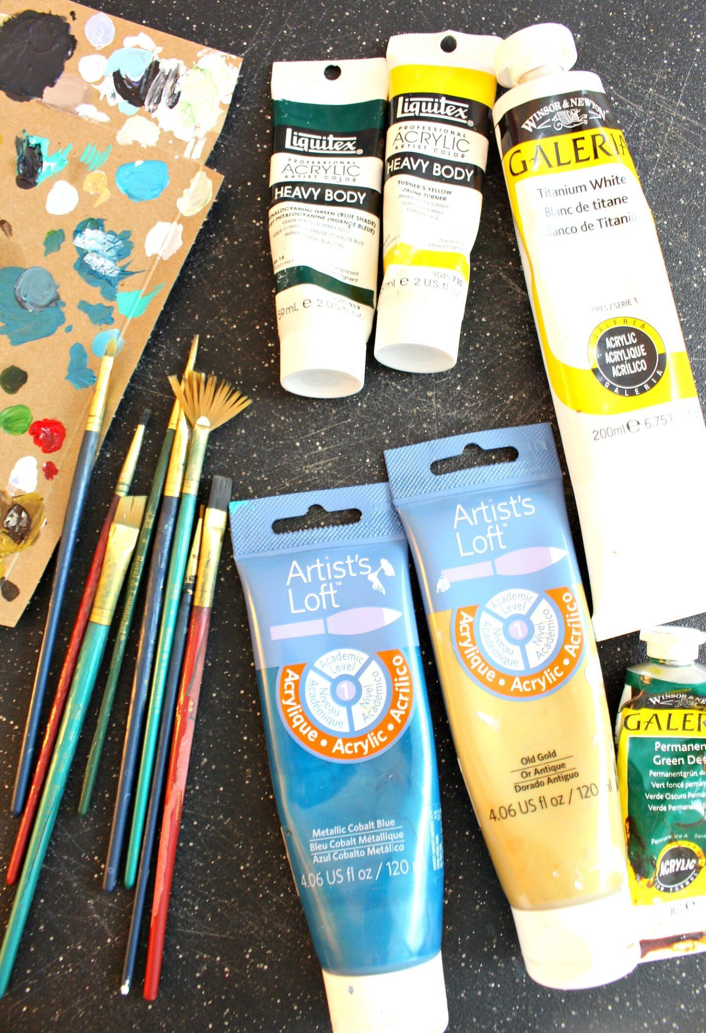 Comment peindre des tranches de bouleau