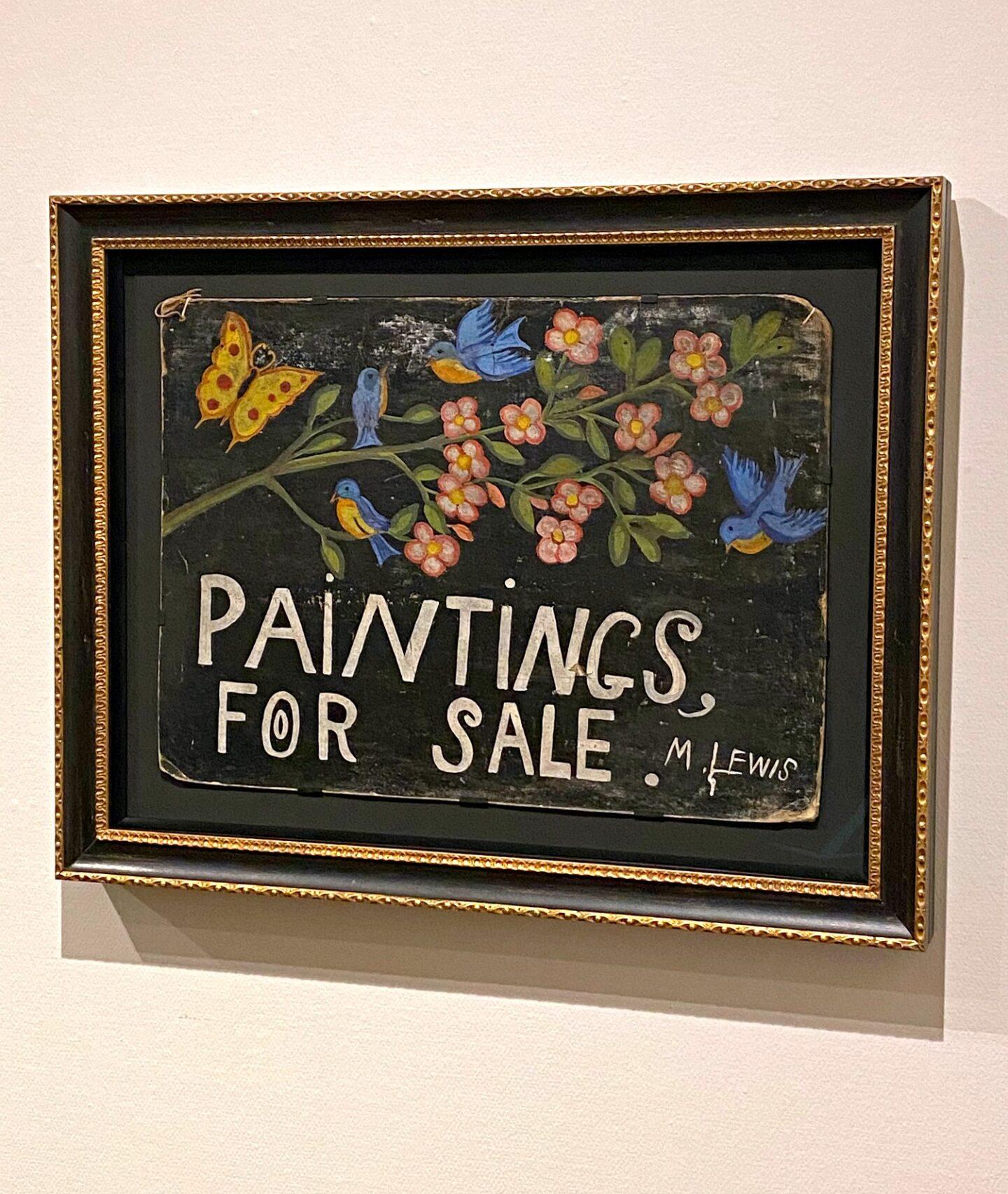 Peintures de Maud Lewis à vendre