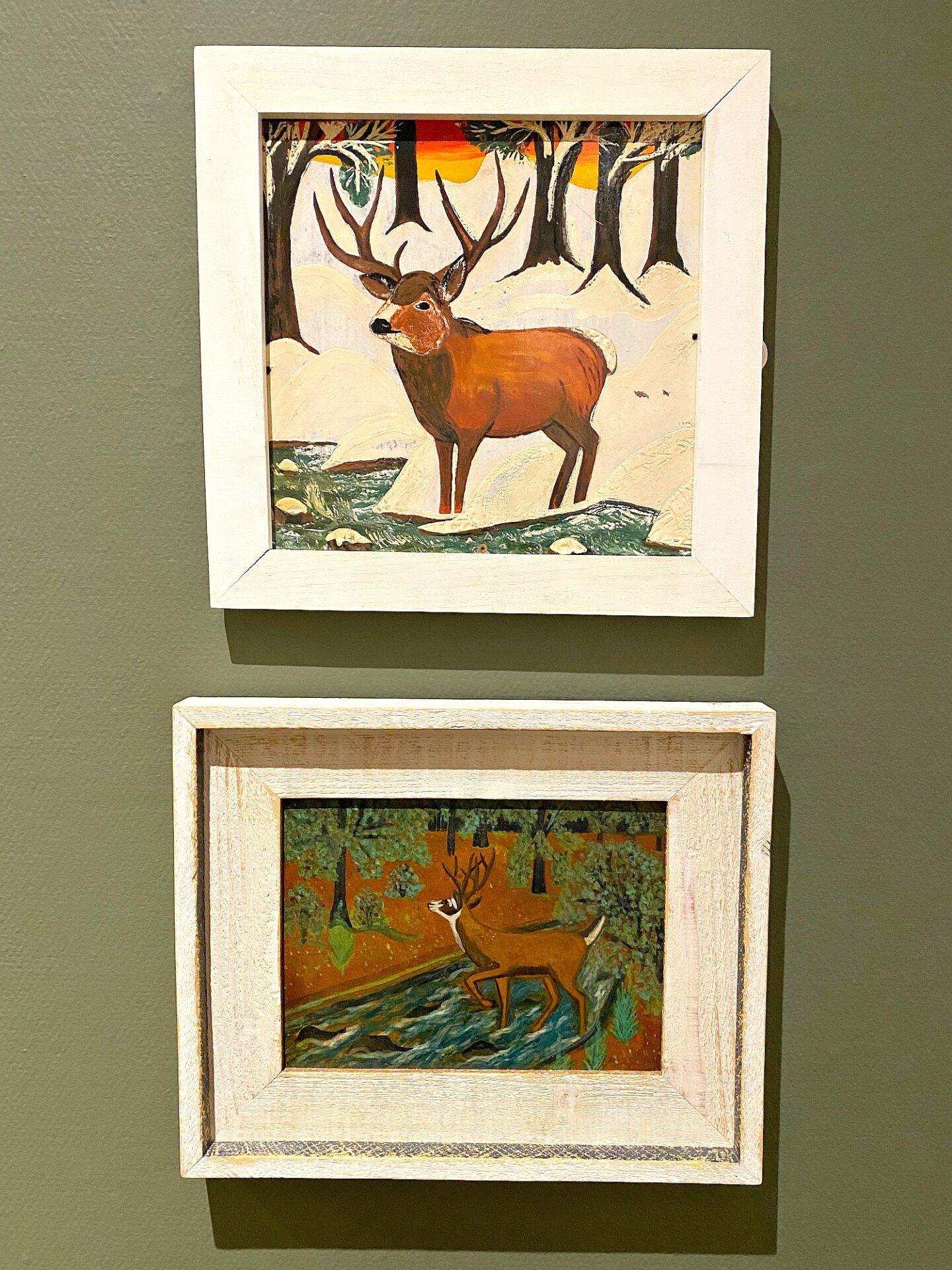 Peintures de Maud Lewis Deer