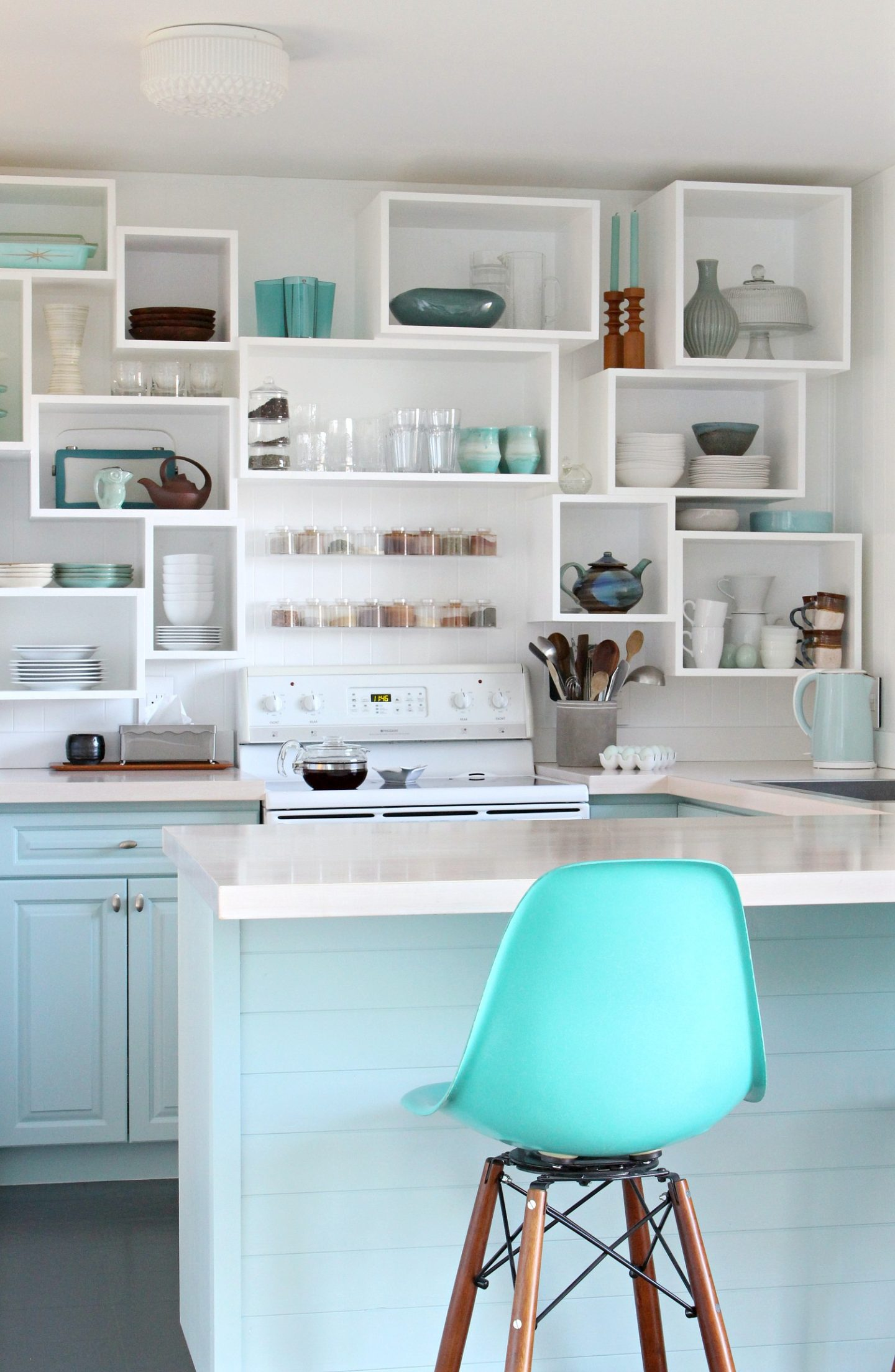 Sherwin Williams Watery Kitchen Cabinets