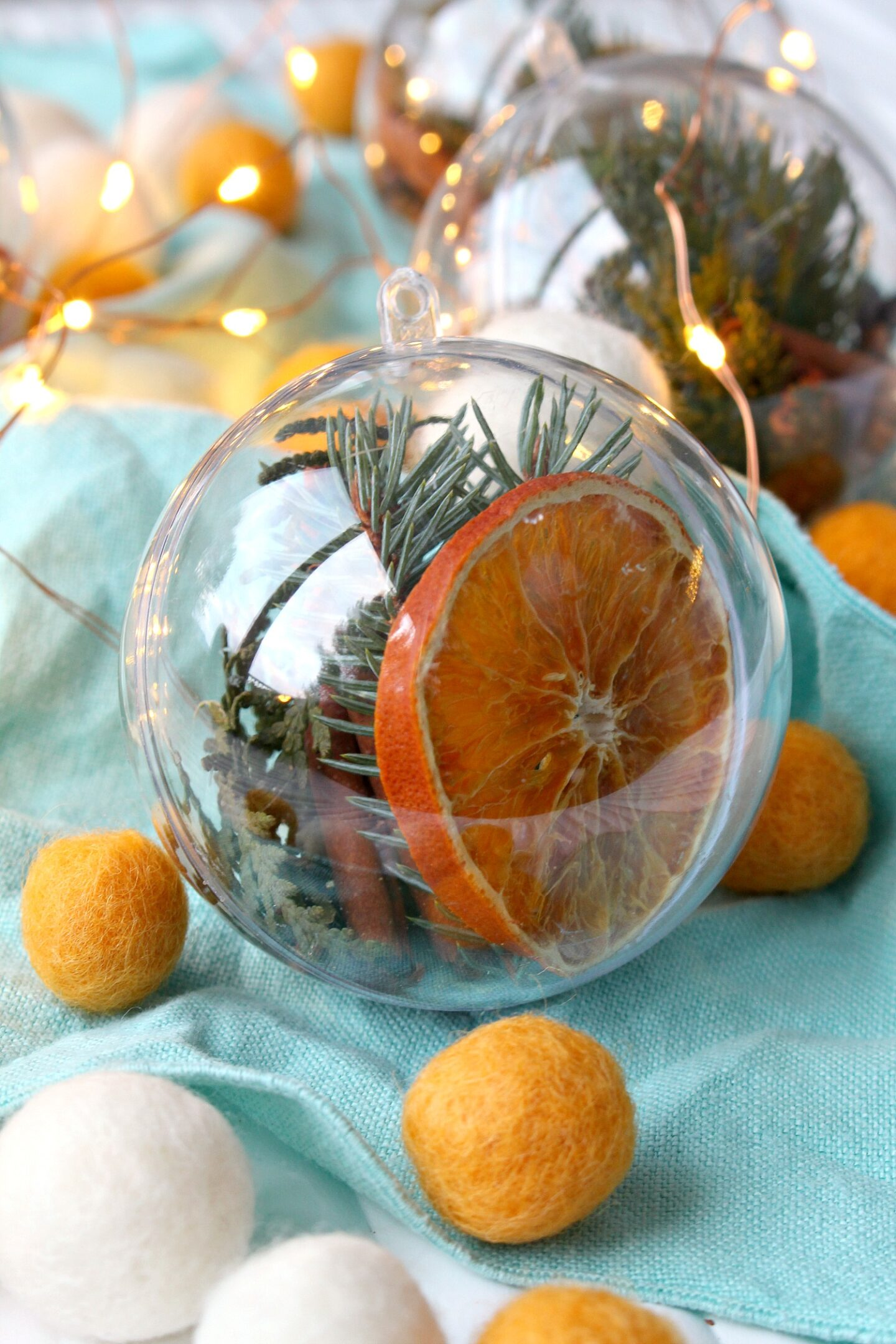 DIY Stove Top Potpourri Ornament