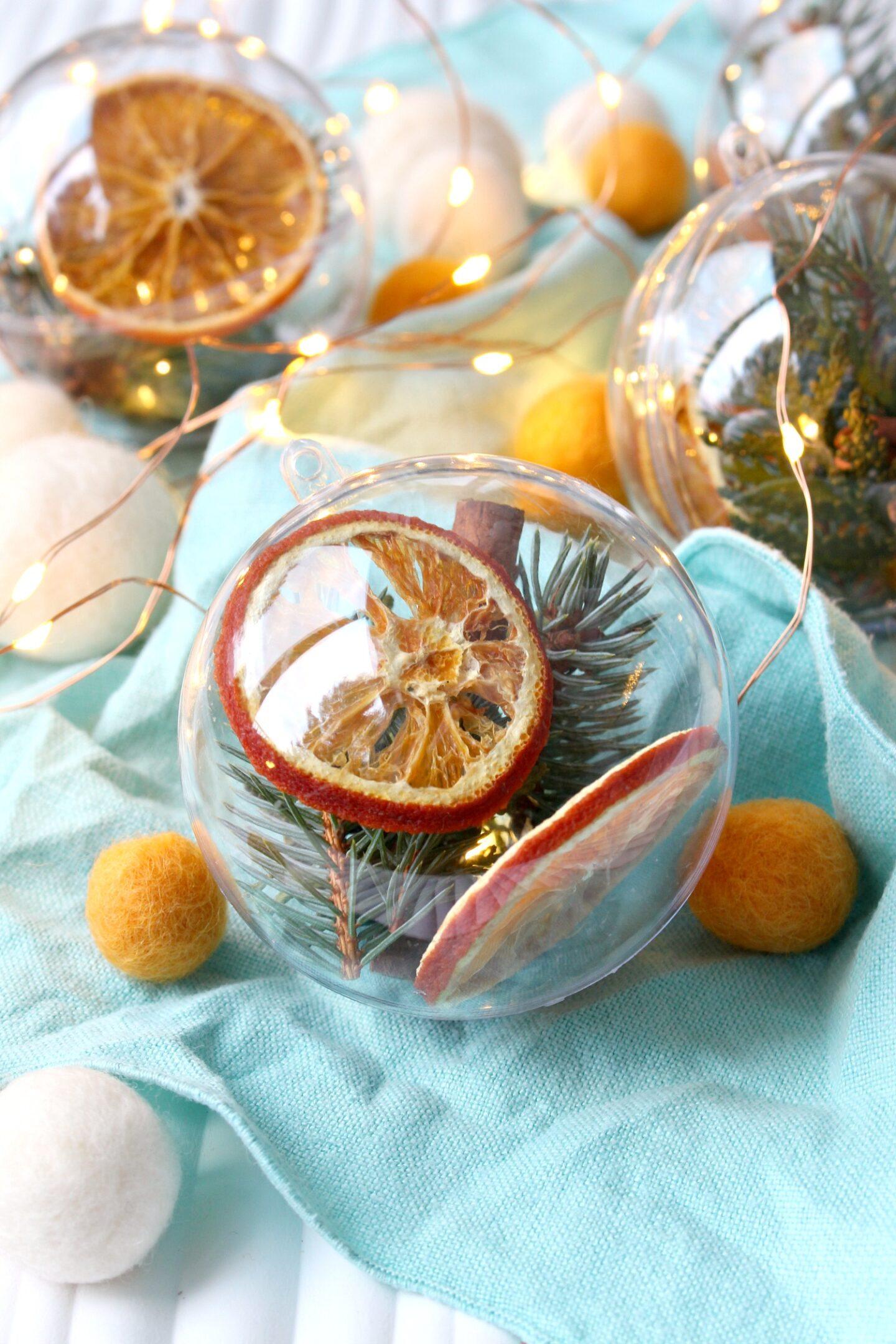 Dried Orange Slice Craft Ideas
