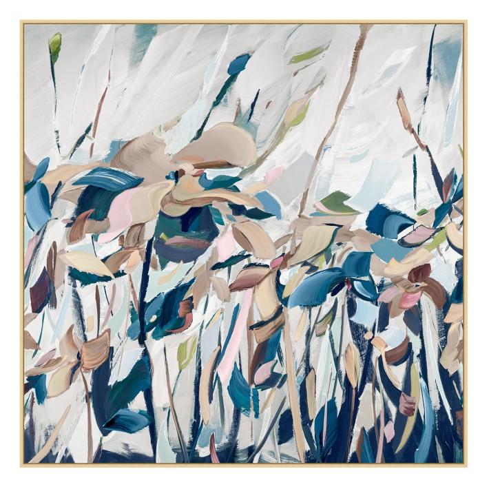 Art floral abstrait