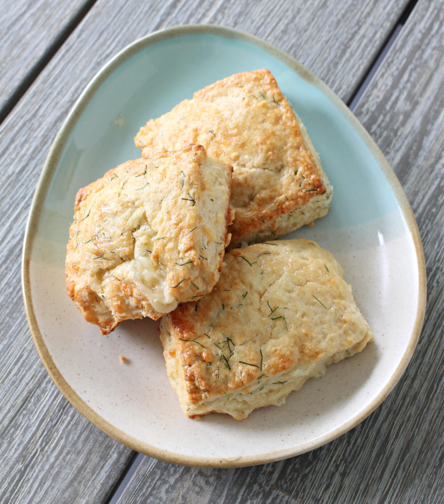 Homemade Dill and Cheese Scones