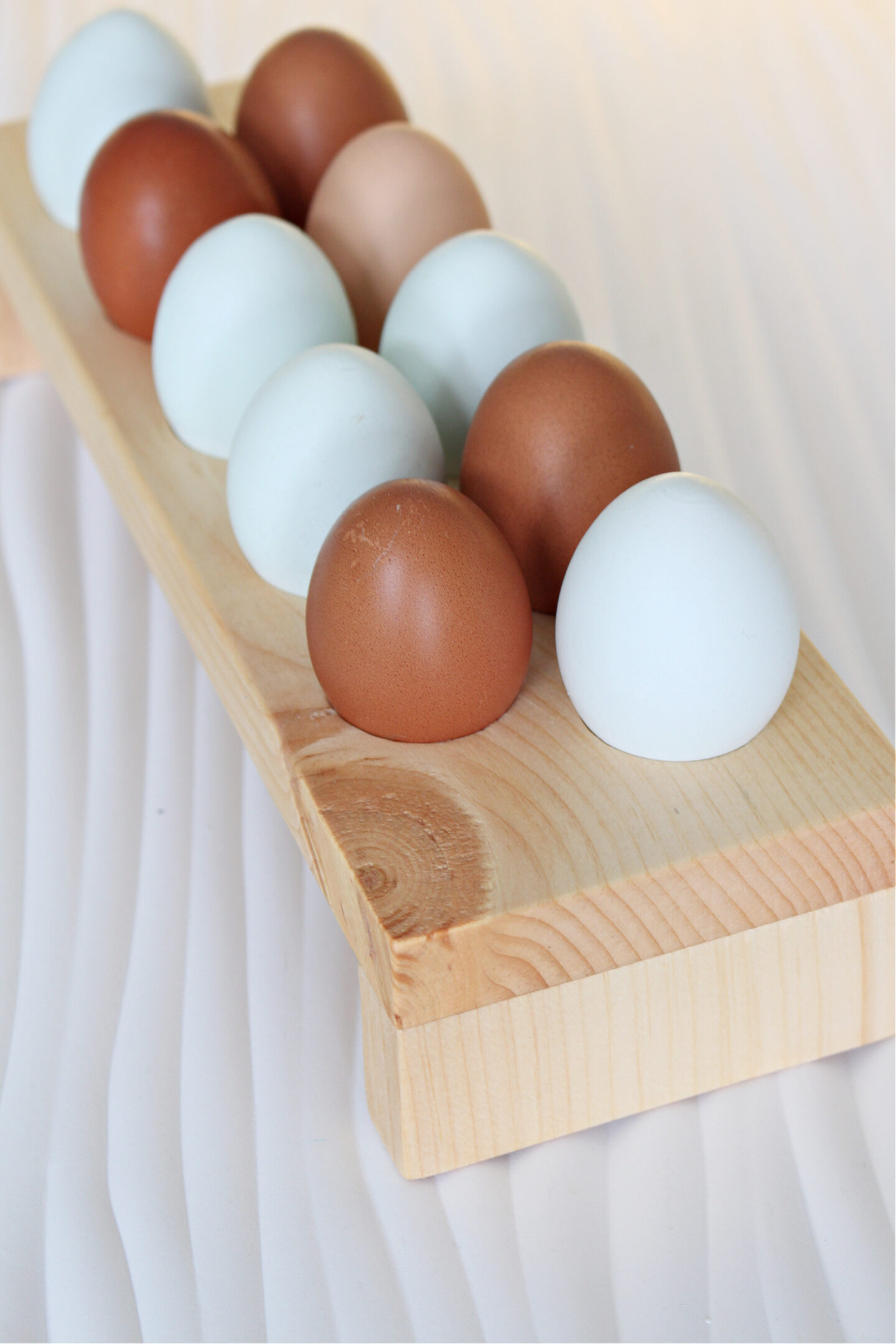 handmade egg holder